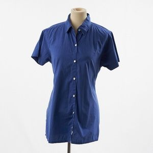 4/$25 Tomorrow's Mother Button Down Shirt Blue S